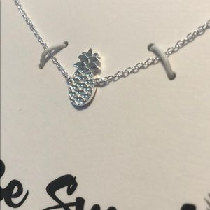 LOVE THIS LIFE BE SWEET PINEAPPLE NECKLACE